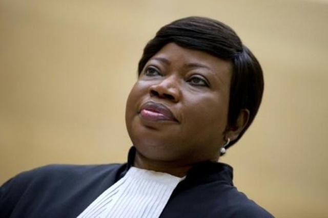 صورة من الارشيف لمدعية المحكمة الجنائية الدولية فاتو بنسوده تعود الى العام 2015 في لاهاي