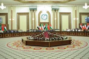 قمة برلمانات دول جوارالعراق خلال اجتماعها في بغداد