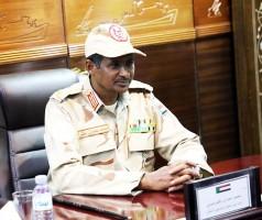 الفريق اول محمد حمدان دقلو نائب رئيس المجلس العسكري الانتقالي