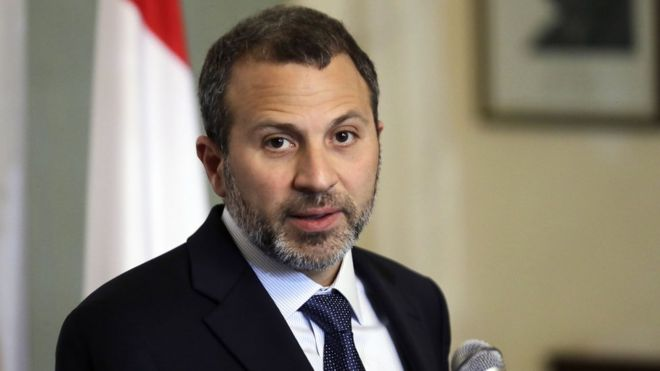 زير الخارجية اللبناني جبران باسيل