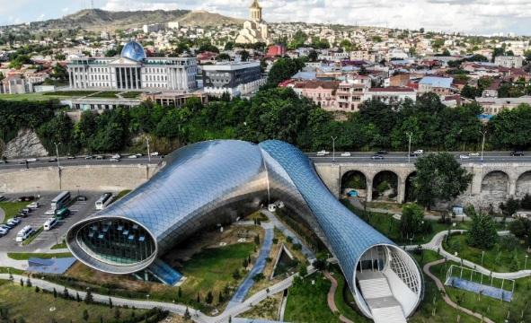 صورة للعاصمة الجورجية تبليسي
