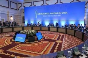 من إحدى جلسات مفاوضات أستانة للحوار حول سوريا