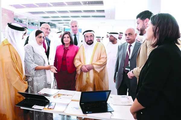 أضاف الشيخ سلطان بن محمد القاسمي خلال افتتاحه مقر منشورات القاسمي الحديث