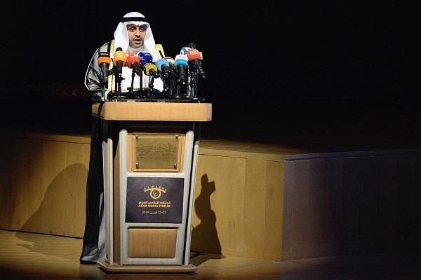 وزير الاعلام الكويتي يتحدث في افتتاح الملتقى الاعلامي العربي مساء الاحد