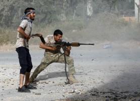 جانب من معارك العاصمة الليبية طرابلس