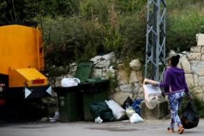 عاملة أجنبية في منطقة جبيل شمال العاصمة اللبنانية 22 نيسان/ابريل 2019
