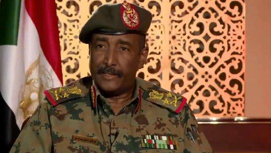 رئيس المجلس العسكري الانتقالي في السودان الفريق الركن عبد الفتاح البرهان
