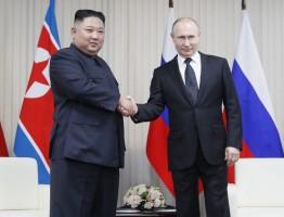 قمة كيم بوتين في فلاديفوستوك