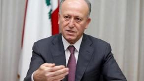 وزير العدل اللبناني السابق أشرف ريفي