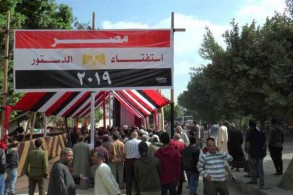 إقبال من المصريين على الاستفتاء