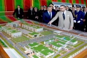 العاهل المغربي الملك محمد السادس يعطي بالرباط انطلاقة أشغال إنجاز مقر جديد للمديرية العامة للأمن الوطني