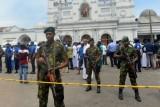 شاهد اللحظات الأولى لتفجير إحدى الكنائس في سريلانكا