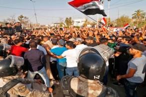 احتجاجات في جنوب العراق ضد الفساد ونقص الكهرباء