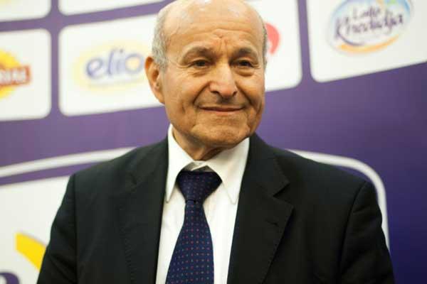 رجل الأعمال الجزائري والمدير التنفيذي لمجموعة سيفيتال يسعد ربراب في الجزائر في 8 مايو 2016