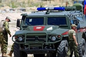 صورة أرشيفية لآلية عسكرية روسية في دير الزور