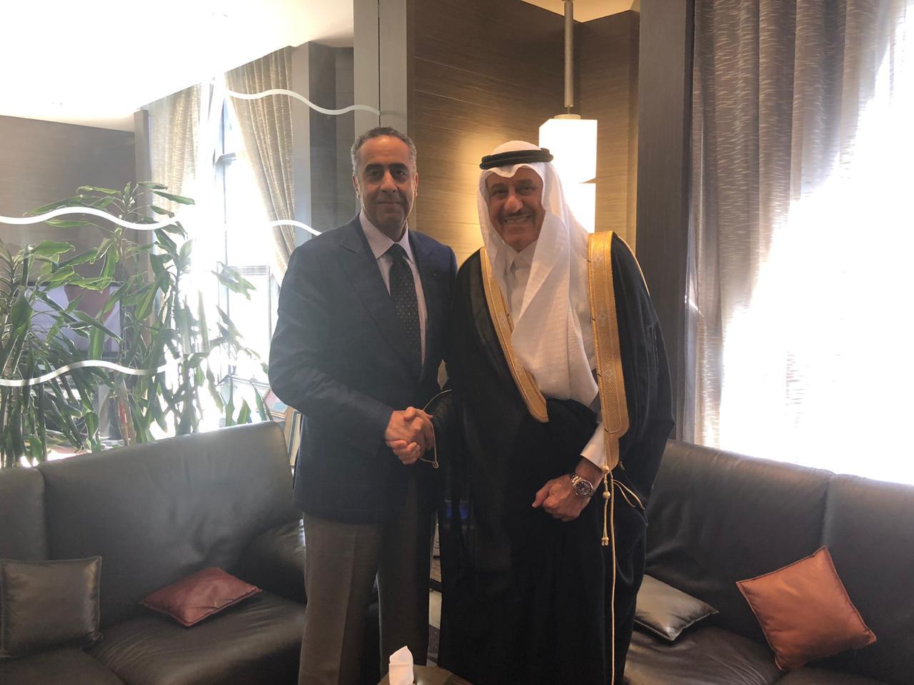 السفير السعودي مع المدير العام للمديرية العامة لمراقبة التراب الوطني في المغرب