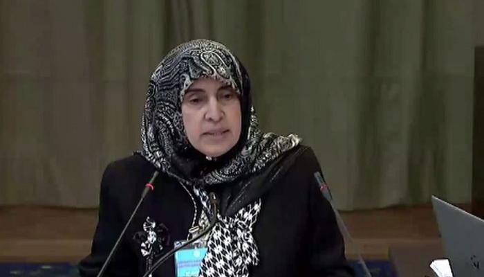 الدكتورة حصة عبدالله العتيبة سفيرة الإمارات لدى هولاندا