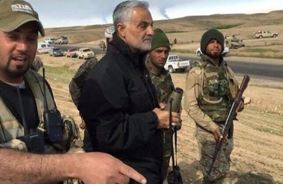قاسم سليماني في العراق