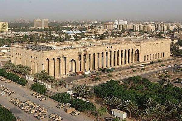 مبنى السفارة الاميركية في بغداد