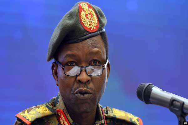 المتحدث باسم المجلس العسكري السوداني شمس الدين كباشي