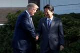 ترمب في اليابان: لقاء مع الإمبراطور وسومو وغولف