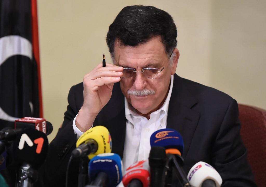 رئيس حكومة الوفاق الوطني الليبية فايز السرّاج