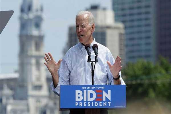 نائب الرئيس الأميركي السابق جو بايدن