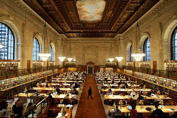 مكتبة نيويورك العامة الرئيسة