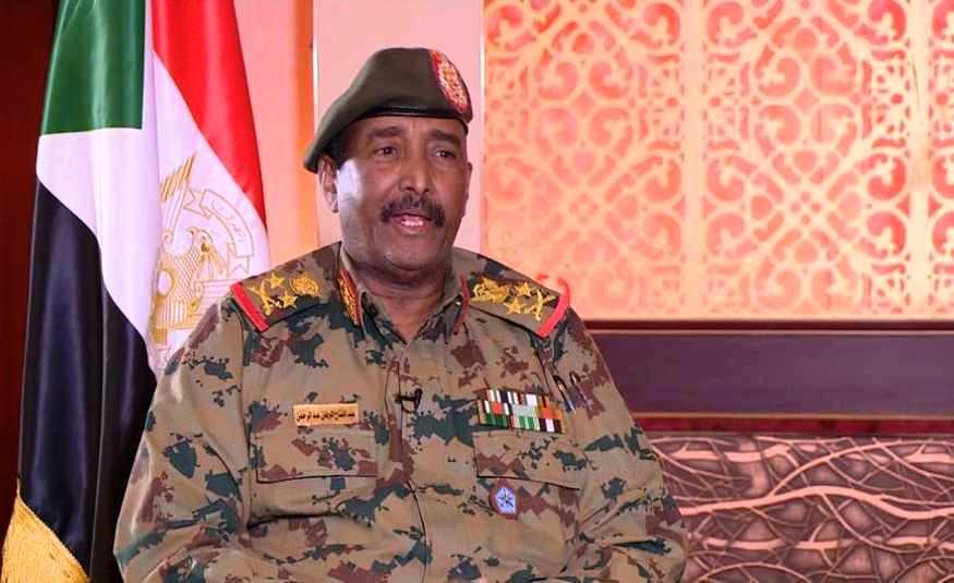 عبد الفتاح البرهان رئيس المجلس العسكري الانتقالي