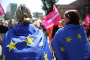تظاهرة في ألمانيا قبل انتخابات البرلمان الأوروبي