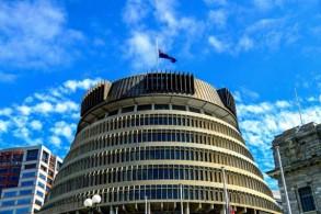 مبنى البرلمان النيوزيلندي المعروف باسم قفير النحل