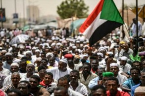 من الاحتجاجات السودانية الأخيرة