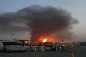 انفجار ضخم يهز محيط السفارة الأميركية في بغداد