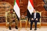تفاصيل زيارة رئيس المجلس العسكري السوداني لمصر