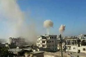 قصف لقوات النظام يطاول مدينة خان شيخون في ريف إدلب الجنوبي