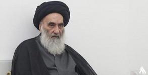المرجع الشيعي الاعلى في العراق آية الله السيد علي السيستاني