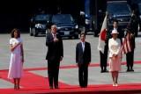 ترمب أول زعيم أجنبي يلتقي إمبراطور اليابان الجديد ناروهيتو