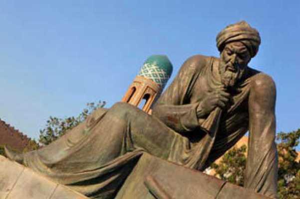 تمثال محمد الخوارزمي في أوزبكستان