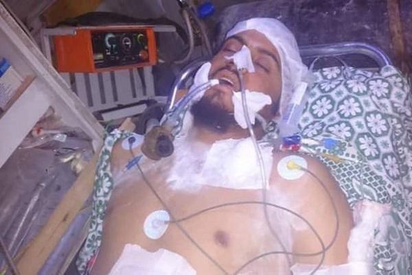 صورة متداولة للساروت بعد إصابته