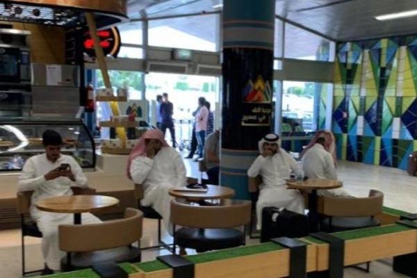 صور من داخل مطار أبها الدولي بعد استهدافه