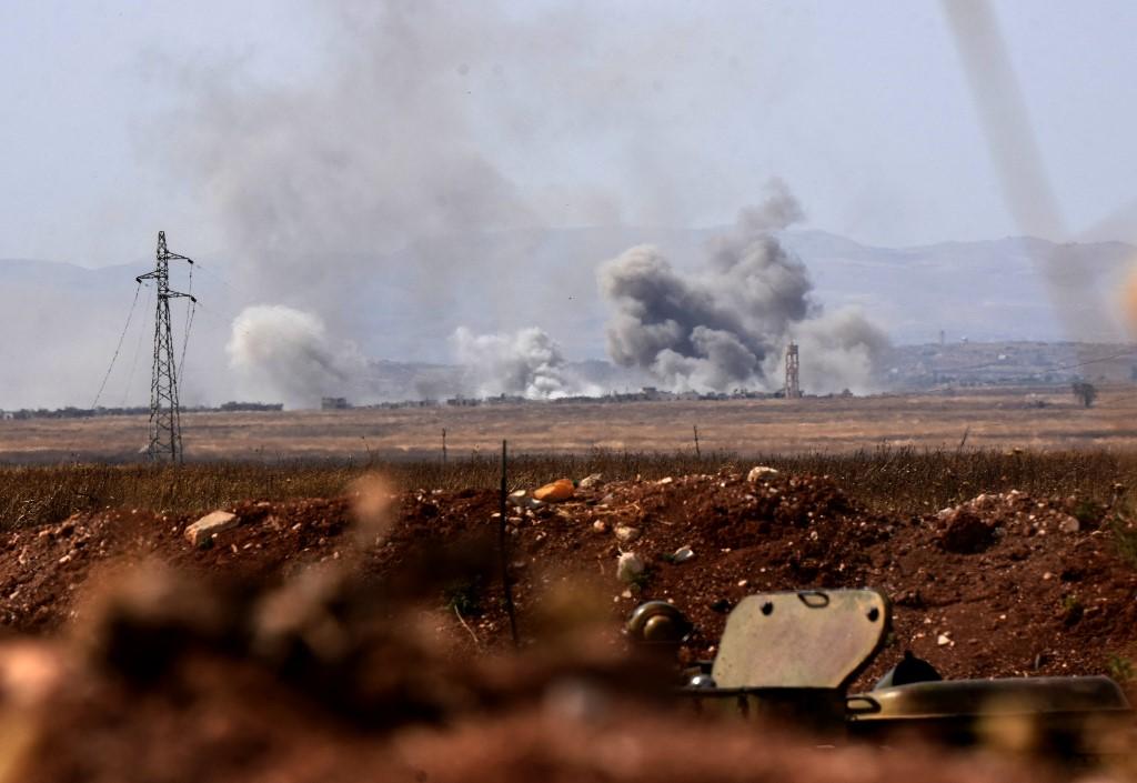 القصف يشتدّ على قرى ريف إدلب
