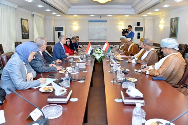 المباحثات العراقية العمانية برئاسة وزير خارجية البلدين في بغداد اليوم