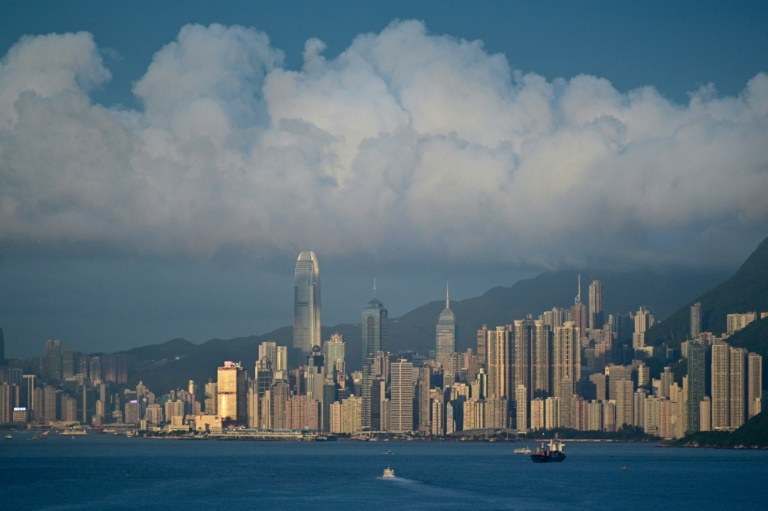 منظر عام لهونغ كونغ في 13 حزيران/يونيو 2019.