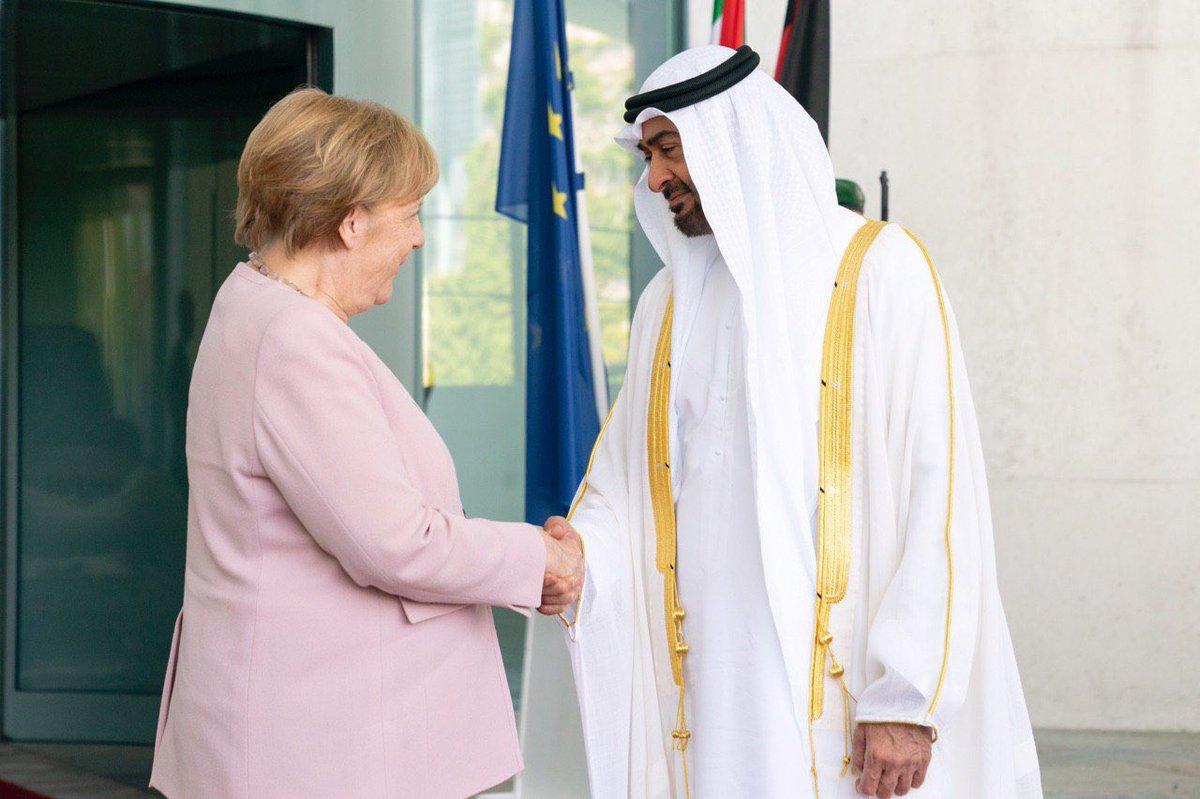 زيارة الشيخ محمد بن زايد إلى برلين تنتقل بالعلاقات بين الإمارات وألمانيا إلى آفاق جديدة