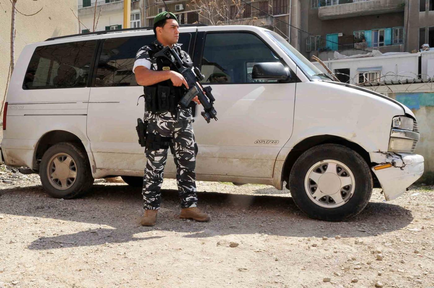 رجل امن لبناني