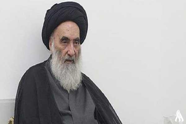 المرجع الشيعي الأعلى في العراق آية الله السيد علي السيستاني