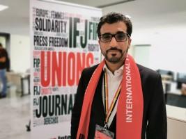 محمد الحمادي رئيس تحرير الرؤية رئيس جمعية الصحفيين الإماراتية وعضو الاتحاد الدولي للصحفيين
