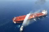 ناقلة النفط اليابانية المستهدفة سترسو في مرفأ إماراتي