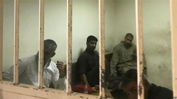 دواعش أجانب معتقلون في العراق