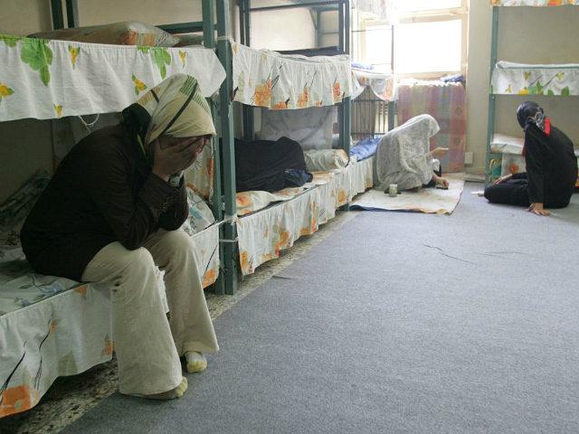 سجن للنساء في إيران (أ ف ب - ارشيفية)